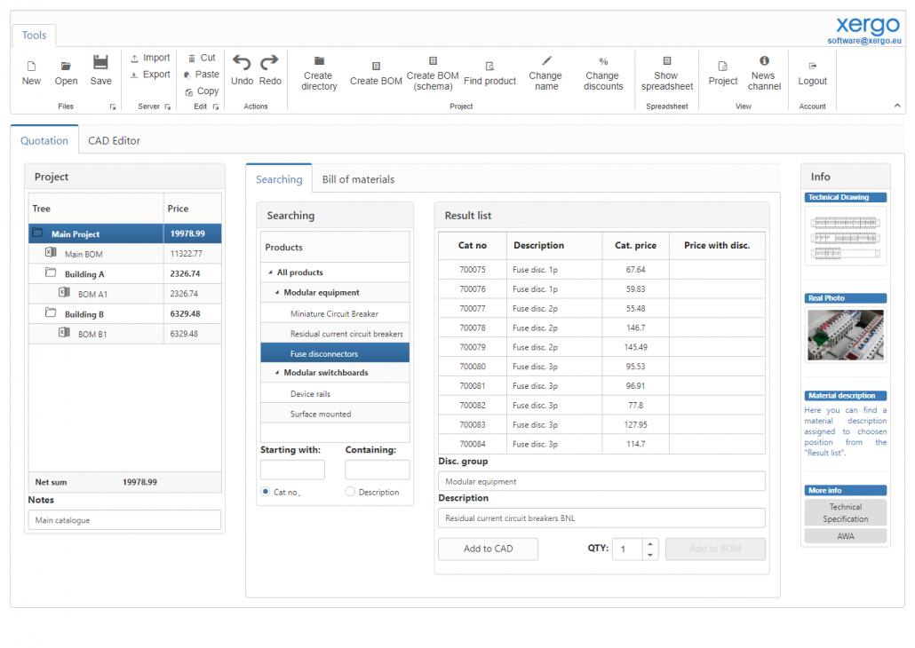 Configuration Pricelist Quotation Preview